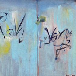 Vrata od klauze, olej na plátně, 85x60cm, prodáno