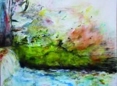 Jez, olej na plátně, 140 x135 cm, olej na plátně, rok 2013, cena 20 000Kč