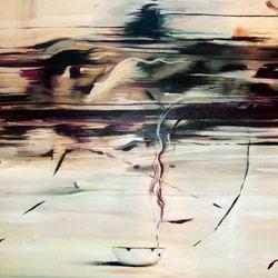 Popelník, olej na plátně, 100x100cm, 10 000Kč, prodáno