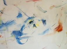 Bez názvu, olej na plátně, 160 x 145 cm, rok 2015