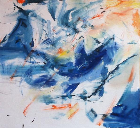 Veleryba-olej-na-plátně-145-x-130-cm-rok-2015, cena 25 000Kč