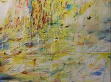 Pocta Vrbě, olej na plátně, rok 2017, 96 x 68 cm, cena 16 000 kč